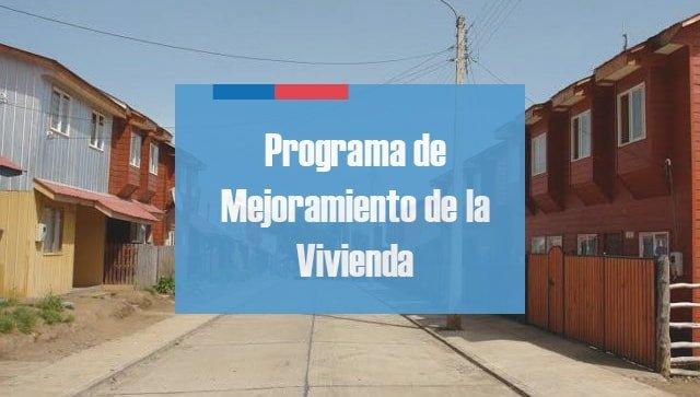 Programa Mejoramiento Vivienda MINVU