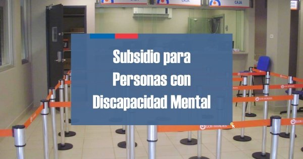 Subsidio Discapacidad Mental Chile