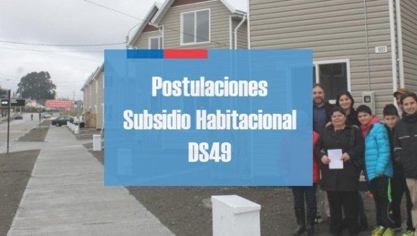 Postulaciones Subsidio Habitacional DS49
