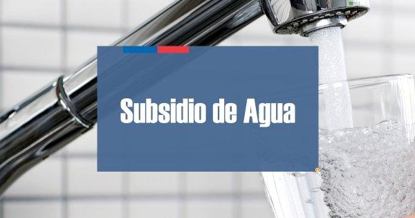 Subsidio de Agua Potable