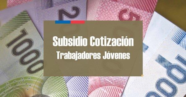 Subsidio Cotización Trabajadores Jóvenes