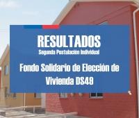 Conoce los resultados del segundo llamado de postulación Subsidio DS49 2017