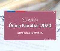 «Subsidio Familiar 2020» ¿Cómo solicitar el bono y cuánto dinero entrega?