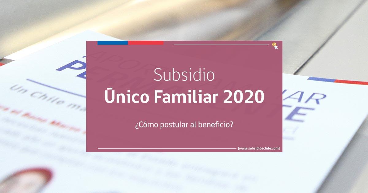 Subsidio Familiar 2020