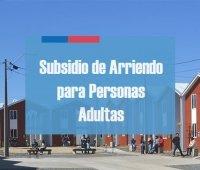 Subsidio de Arriendo para Adultos Mayores: Postulaciones Abiertas