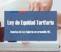 Ley de Equidad Tarifaria: ¿En qué comunas bajarán las cuentas de luz?