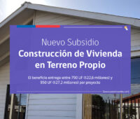 Nuevo subsidio para construir una vivienda en sitio propio, con $300 mil pesos podrás postular