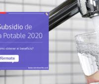 «Subsidio de Agua 2020» ¿Cúales son los requisitos y cómo solicitarlo?