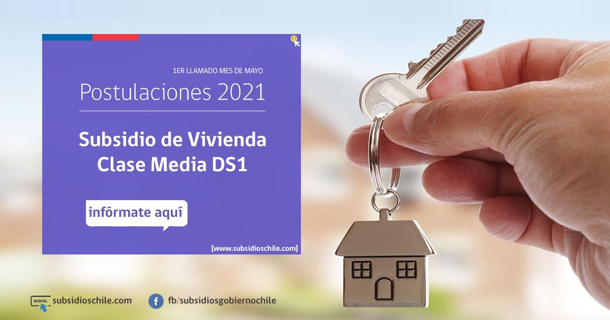 Subsidio DS1 Clase Media 2021: ¿Cuándo postular y qué requisitos son?
